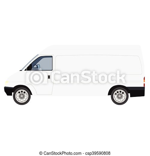 Delivery car vector - csp39590808