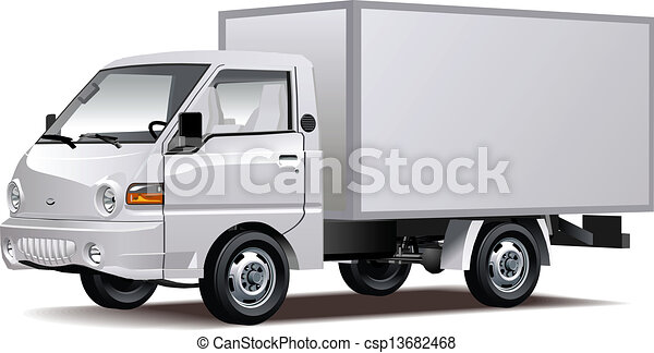 Delivery / Cargo Truck - csp13682468