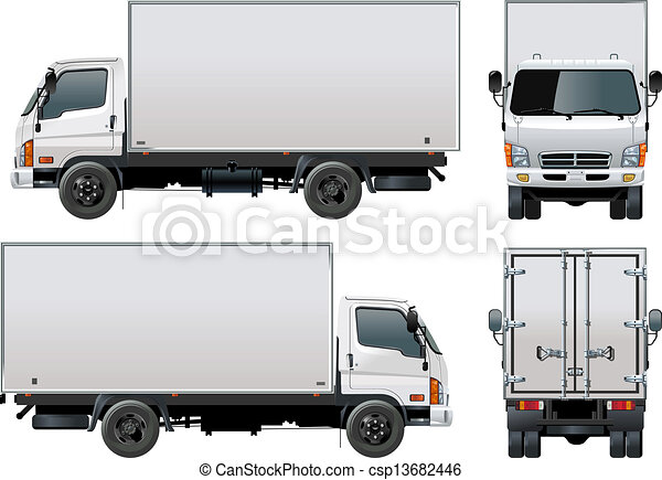 Delivery / Cargo Truck - csp13682446