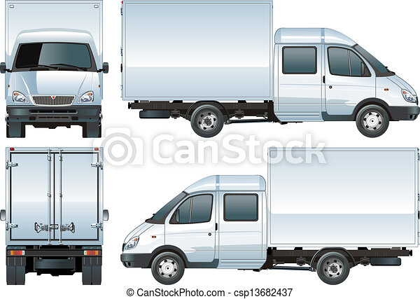 Delivery / Cargo Truck - csp13682437