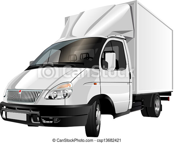 delivery / cargo truck - csp13682421