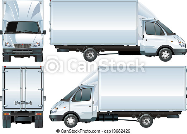 Delivery / Cargo Truck - csp13682429