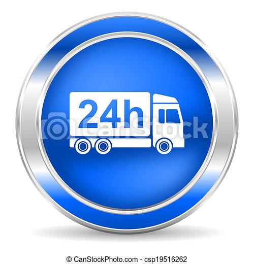 delivery icon - csp19516262