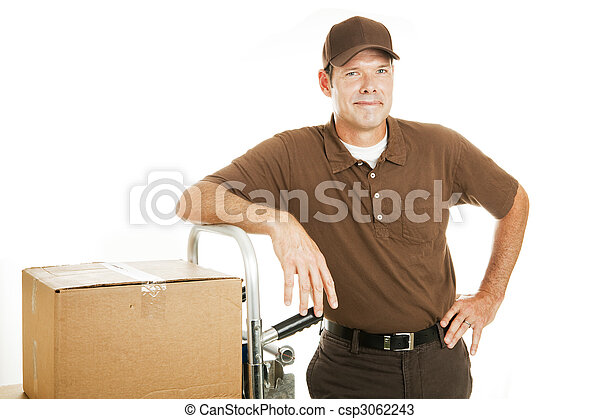 Delivery Man or Mover - Confident - csp3062243