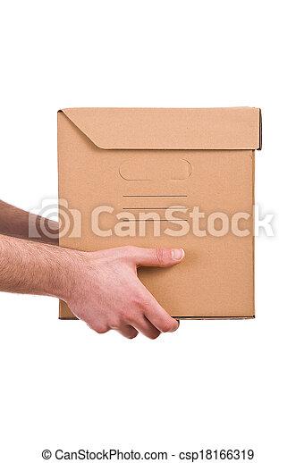 Delivery man.  - csp18166319