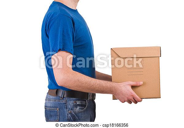 Delivery man.  - csp18166356