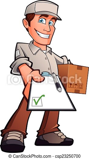 Delivery man - csp23250700