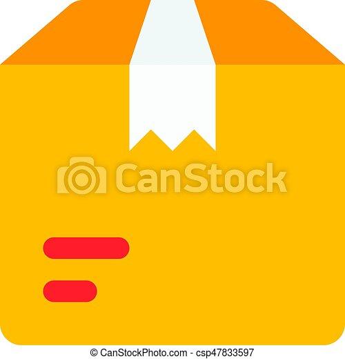delivery parcel - csp47833597