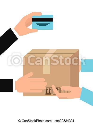 delivery service  - csp29834331