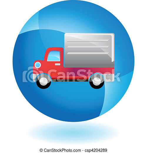 Delivery Truck - csp4204289