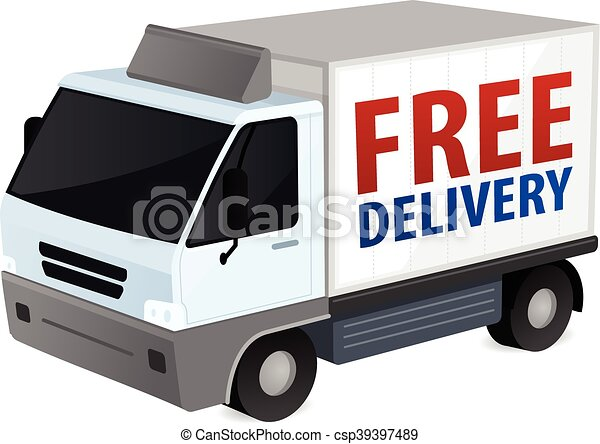 Delivery Truck - csp39397489