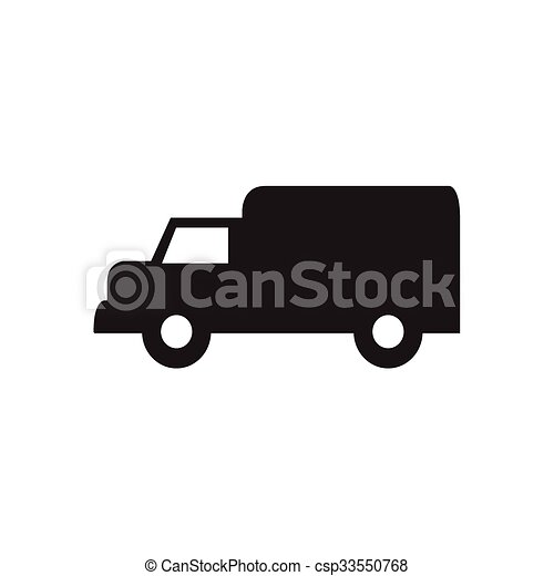 Delivery Truck icon - csp33550768