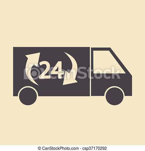 Delivery Truck icon - csp37170292