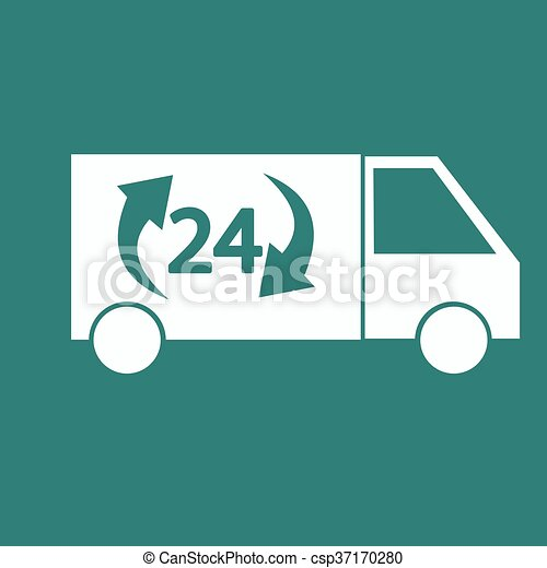 Delivery Truck icon - csp37170280
