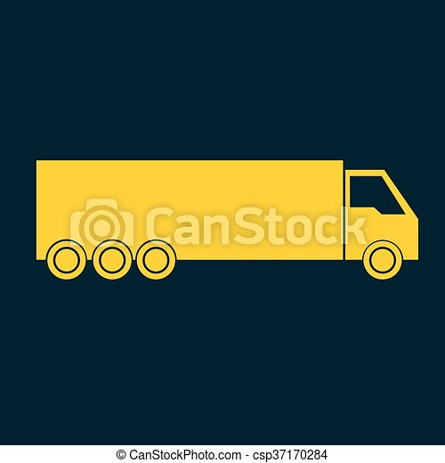 Delivery Truck icon - csp37170284