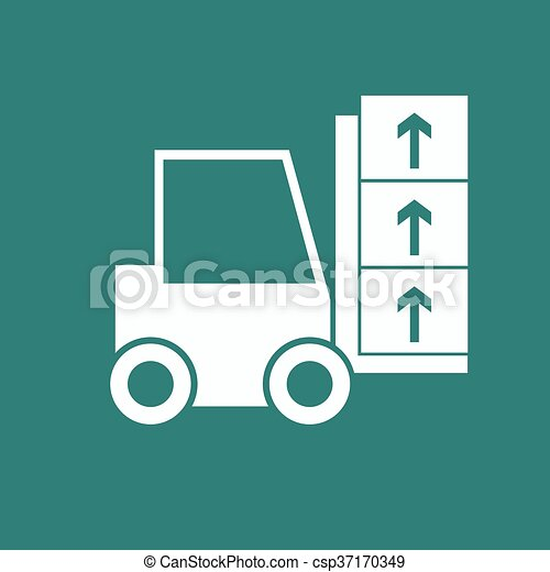 Delivery Truck icon - csp37170349