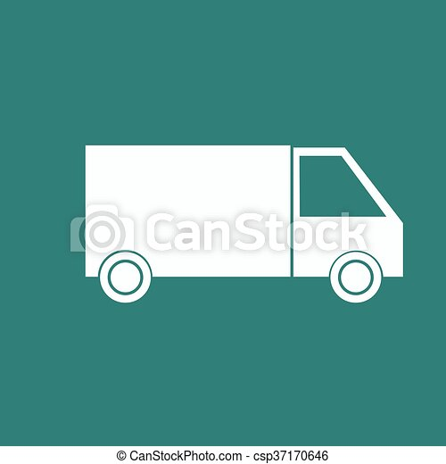 Delivery Truck icon - csp37170646
