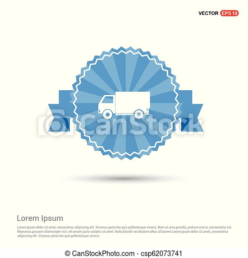 Delivery truck icon - csp62073741