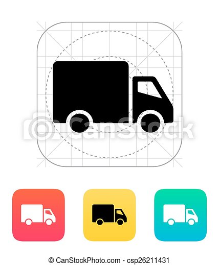 Delivery Truck icon. - csp26211431