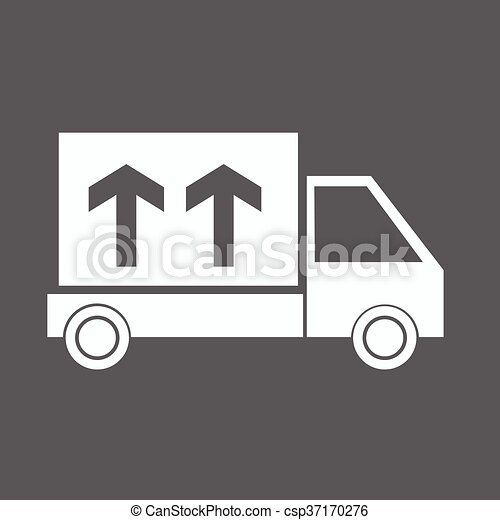 Delivery Truck icon - csp37170276