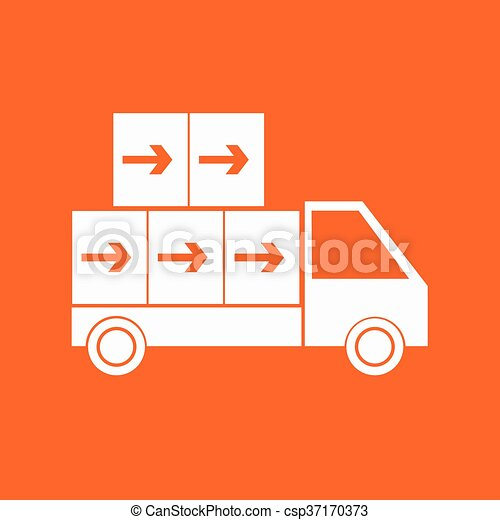 Delivery Truck icon - csp37170373