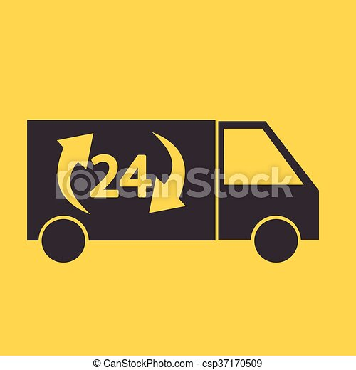 Delivery Truck icon - csp37170509
