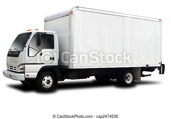 Delivery Truck - csp2474535