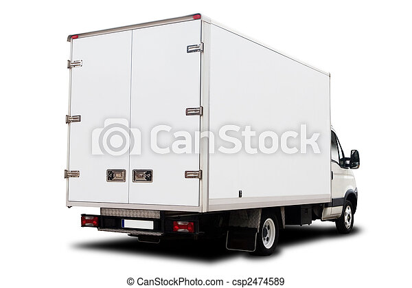 Delivery Truck - csp2474589