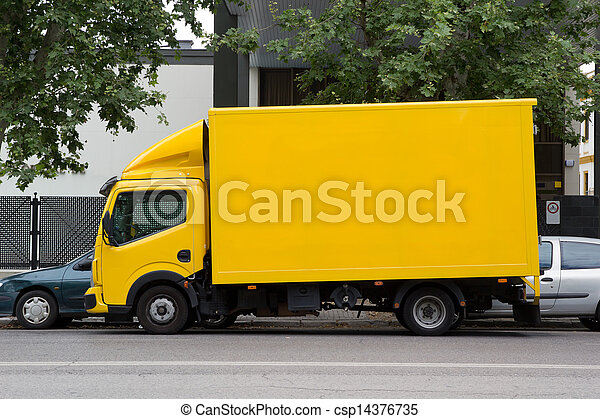 Delivery Truck - csp14376735