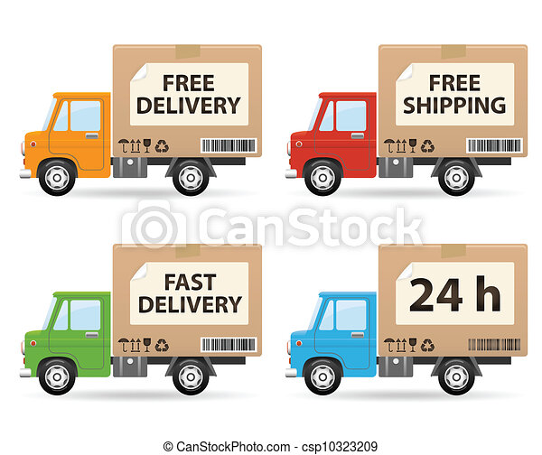 Delivery truck - csp10323209