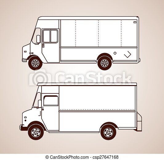 Delivery Trucks - csp27647168