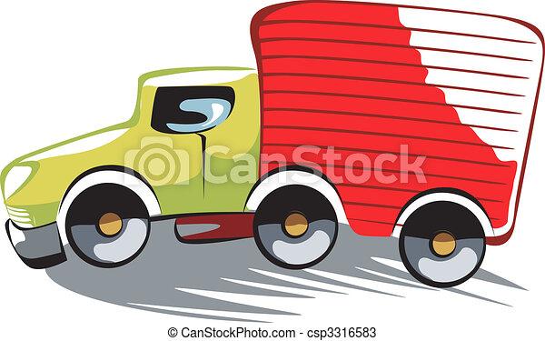 delivery van - csp3316583