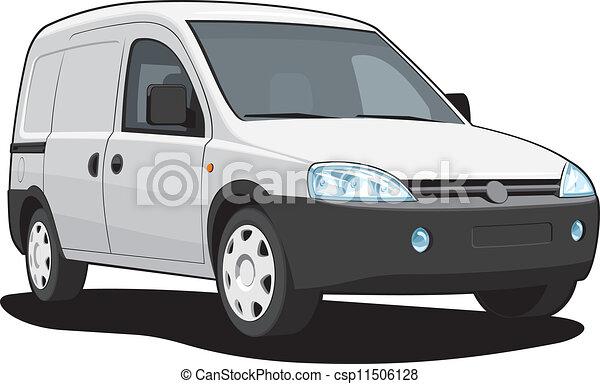 Delivery van - csp11506128