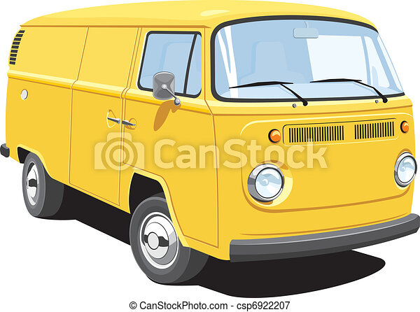 Delivery van - csp6922207