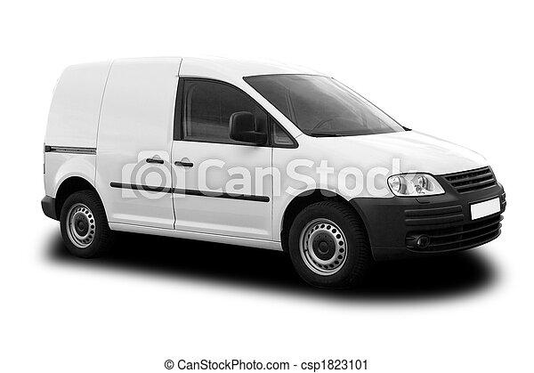 Delivery Van - csp1823101