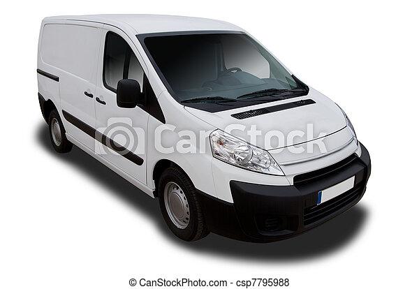 Delivery Van - csp7795988