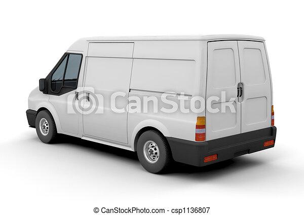 Delivery van - csp1136807