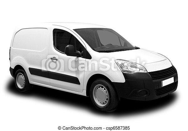 Delivery Van - csp6587385