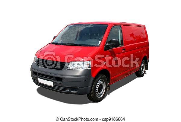 Delivery van - csp9186664