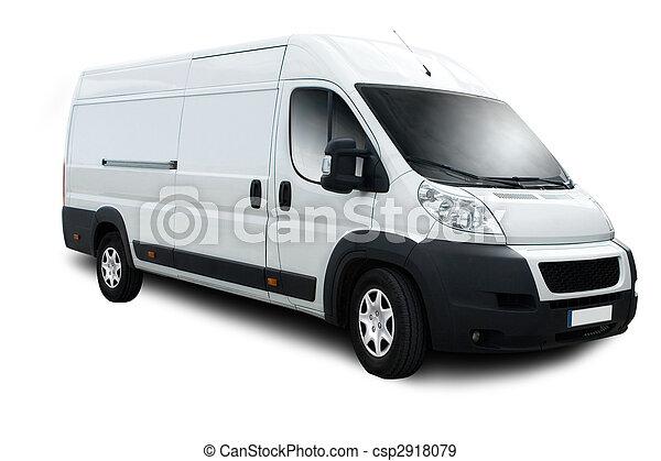 Delivery Van - csp2918079