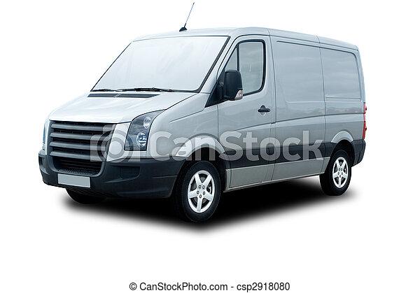 Delivery Van - csp2918080
