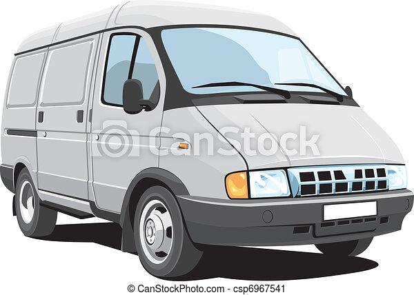 Delivery van - csp6967541