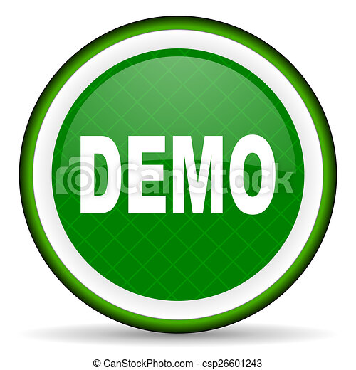 demo green icon - csp26601243