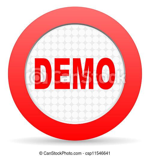 demo icon - csp11546641