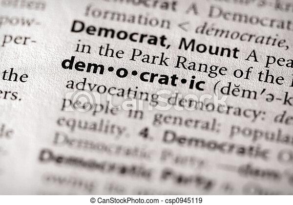 democrático - csp0945119