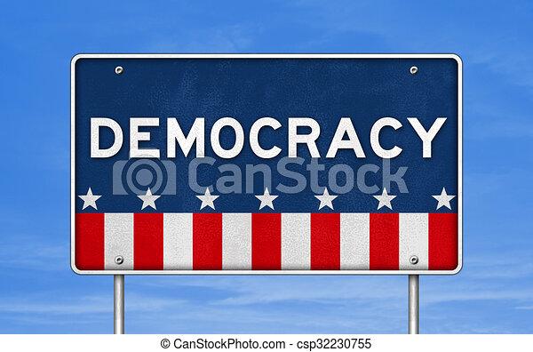 Democracy - csp32230755