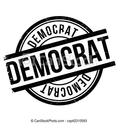 Democrat stamp - csp42310593