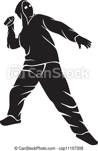 demonstrator (hooligan) - csp11107308