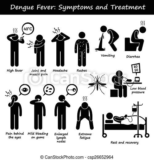 Dengue Aedes Symptoms and Treatment - csp26652964