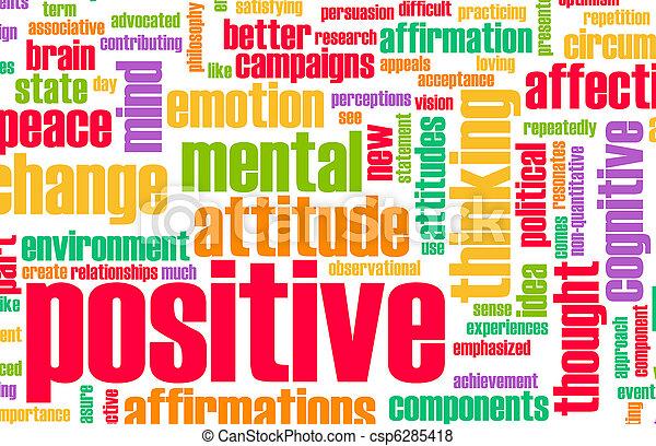 denken, positief - csp6285418